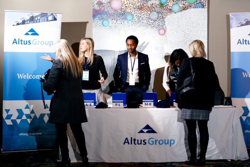 Altus group networking breakfast  Nathalie Terekhova conference photographer