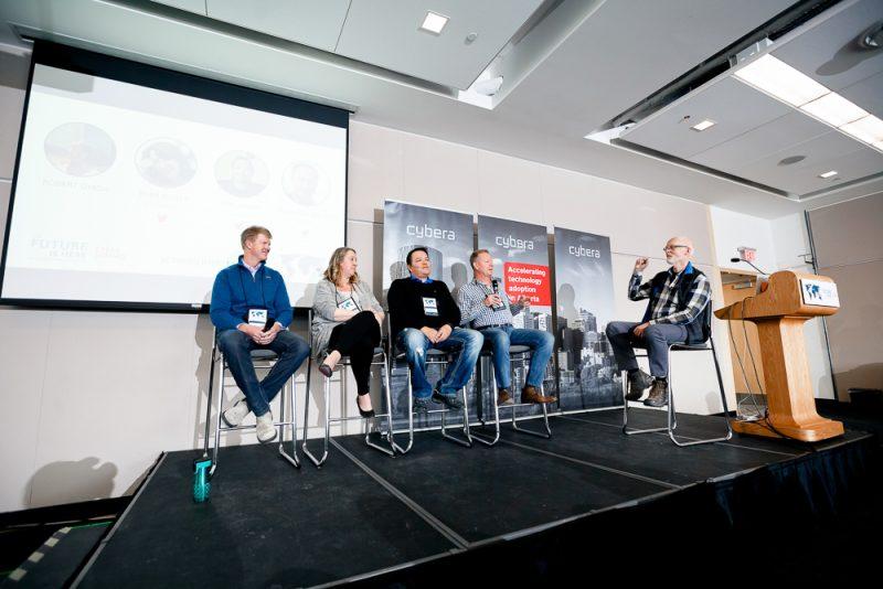 Cybera Summit 2017 Banff conference photographer Nathalie Terekhova