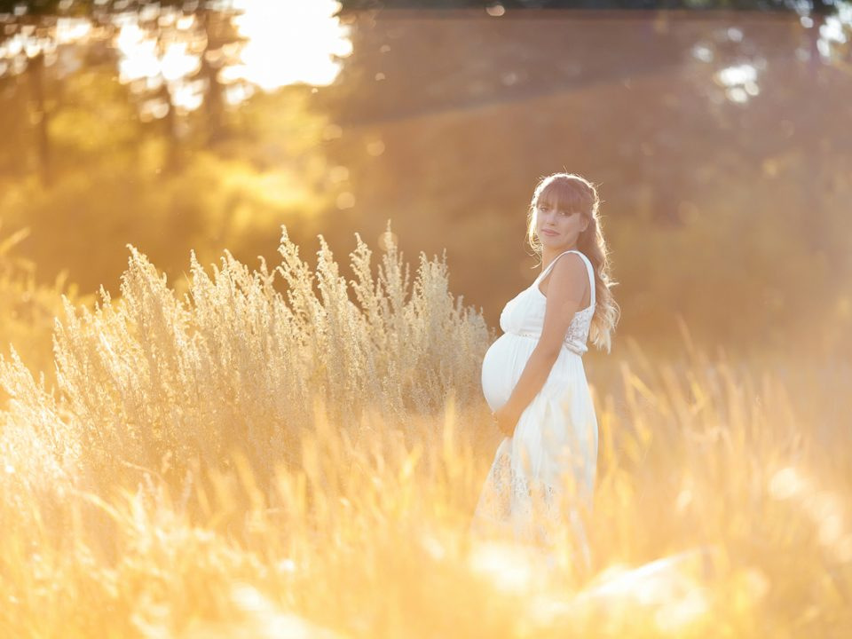Maternity session in Calgary Pearce estate park Nathalie Terekhova photographer