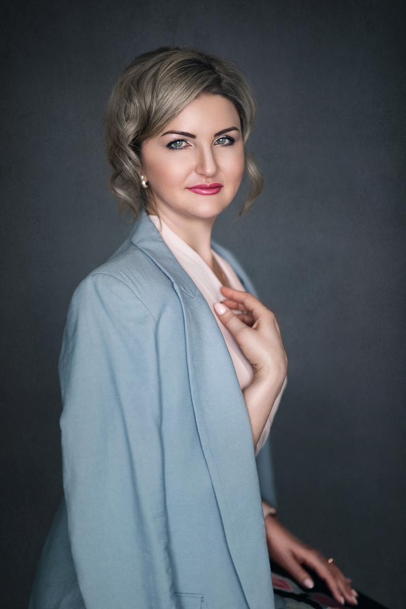 High end women portrait photography