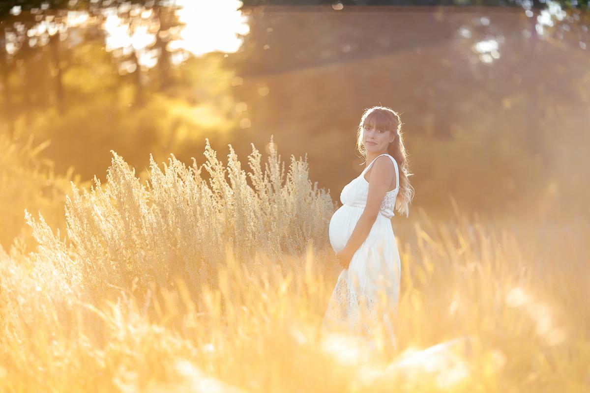 Sunset Maternity photography Calgary