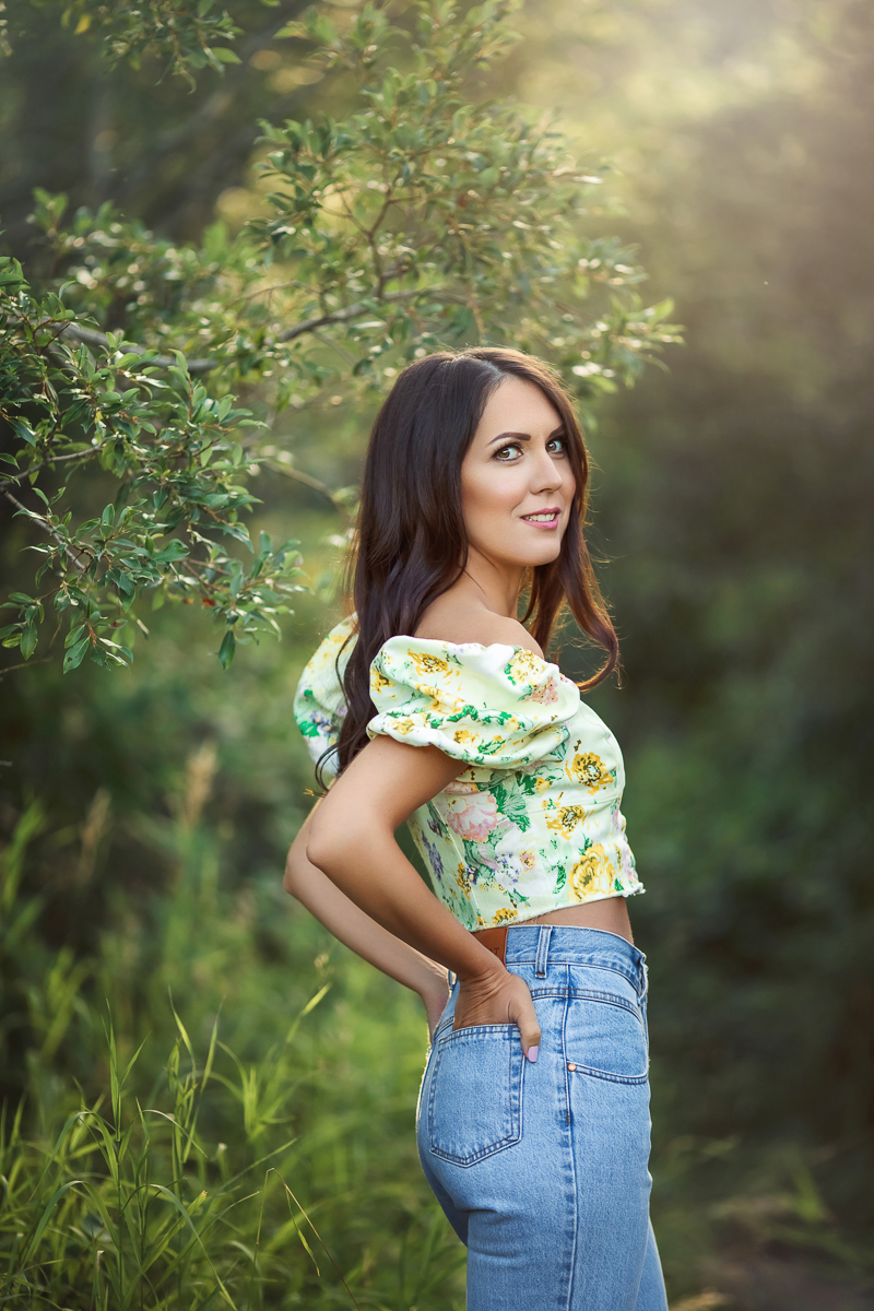 Outdoor portrait photography in Calgary