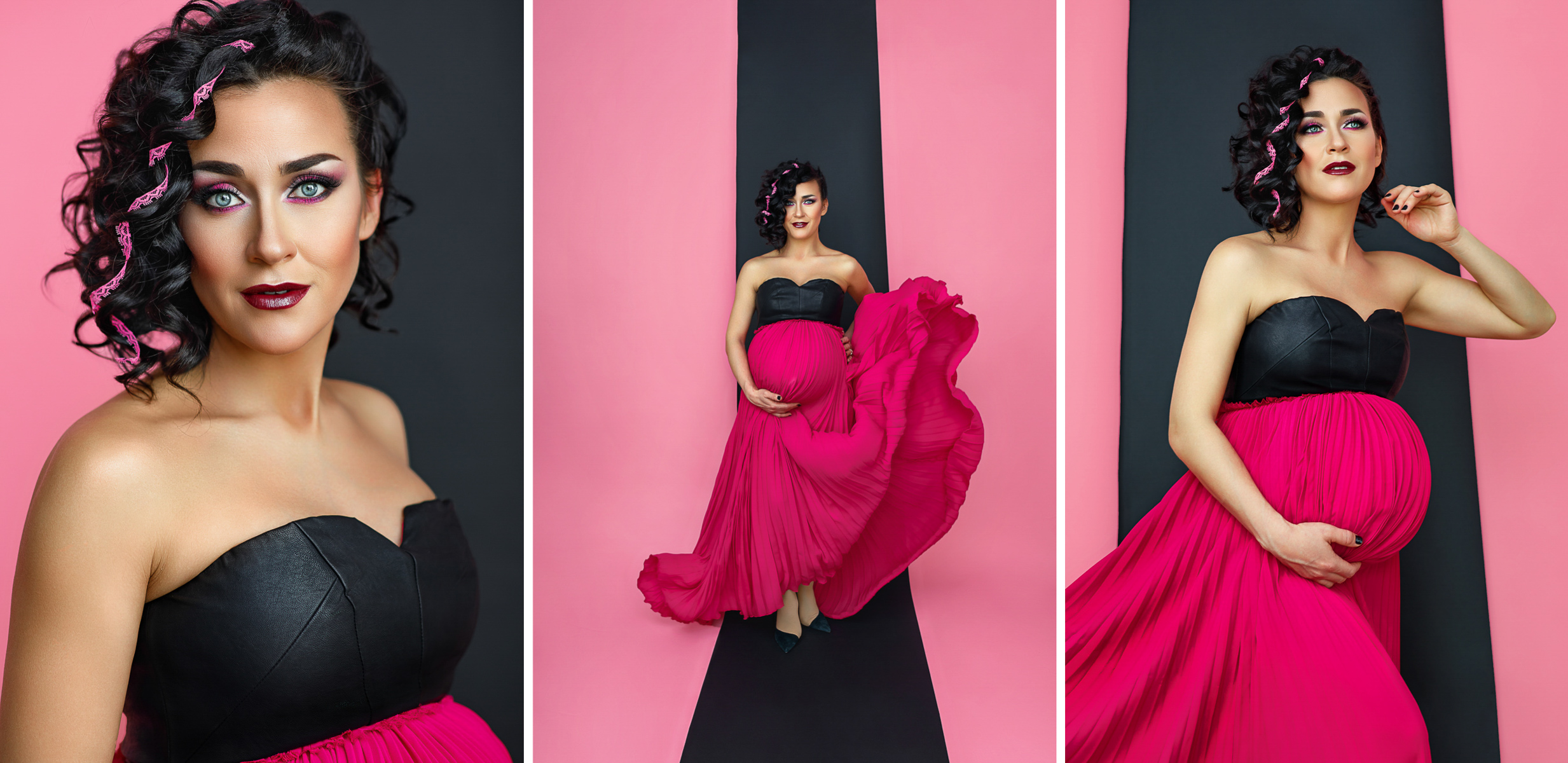Studio maternity photographer